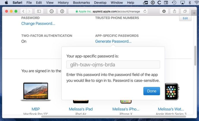 App-Specific Password