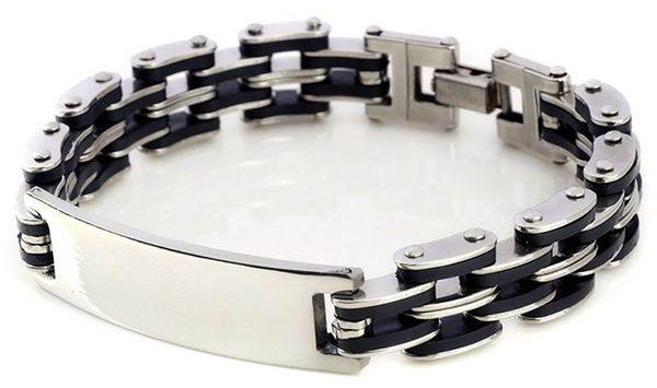 Kedar steel bracelet