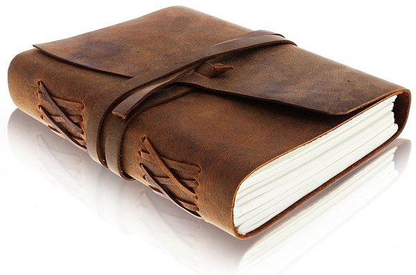 Moonster Leather journal