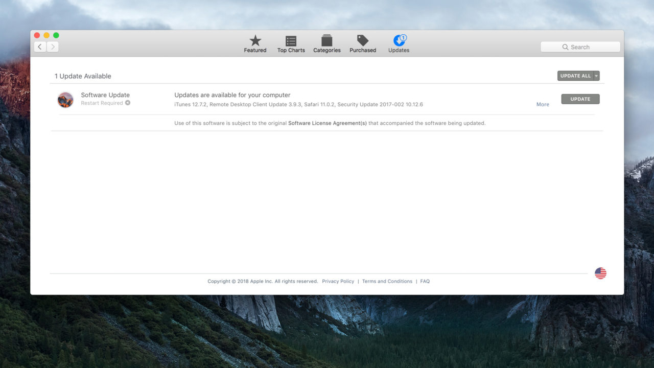 How to Hide the High Sierra Upgrade Banner in the Mac App Store