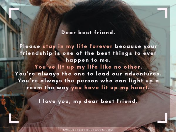 Best Friend Letters That Make You Cry.Best Friend Paragraphs Letters For Bff