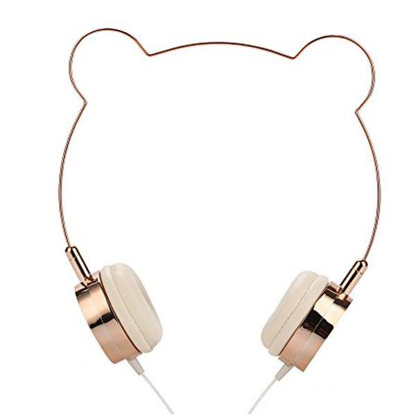 Bear Ear Wired Headphone