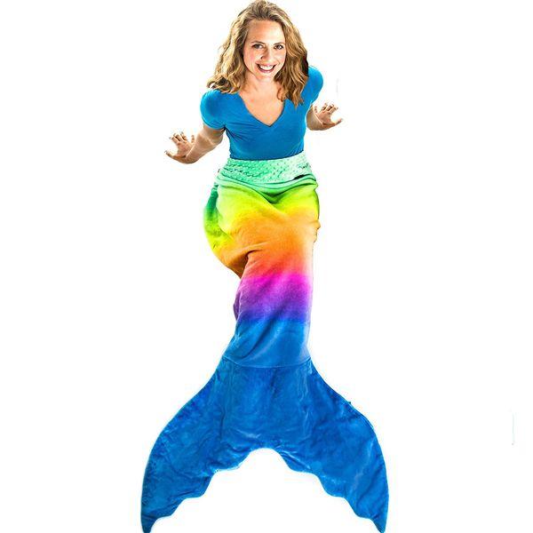 Blankie Tails Mermaid Tail Blanket