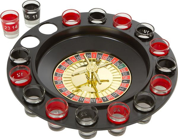 Drinking Roulette Set unique funny gifts