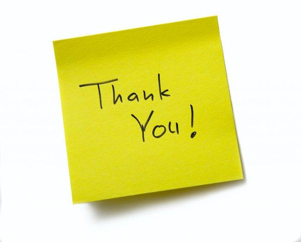 Best free thank you photos to upload and send