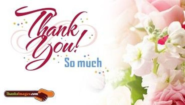 Super Lovely Thank You Images for Her