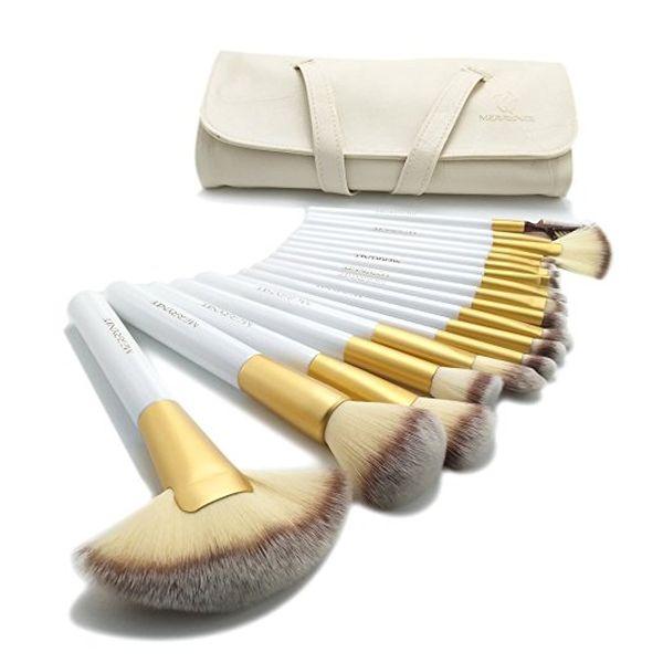 Merrynice 18pcs Deluxe Makeup Brush Set