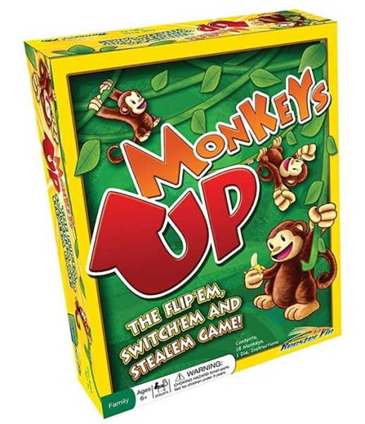 Monkeys up Family Board Game