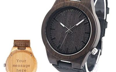 Personalized Handmade Wooden Watch