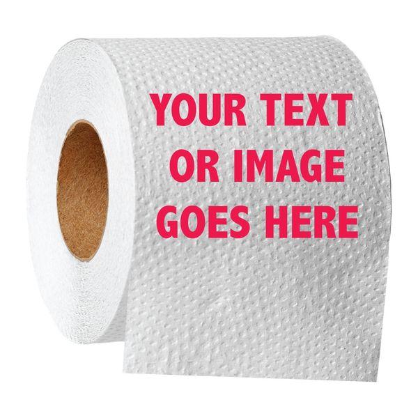 Printed Toilet Paper dumb present idea