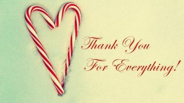 Wonderful thank you photos from your heart