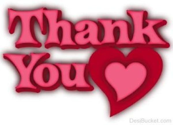 Super thank you photos from your heart