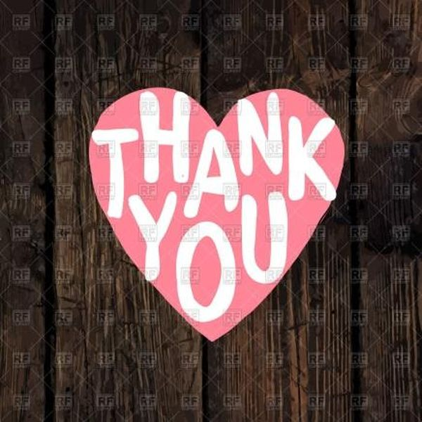 Best thanks photos from your heart
