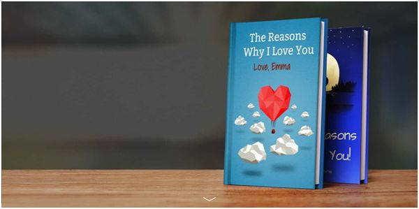 """Customized """"Reasons Why I Love You"""" Book"""