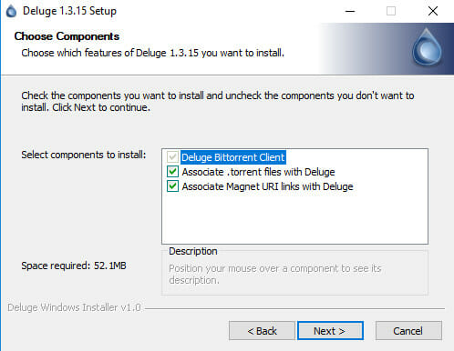 Deluge Windows Install
