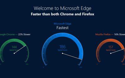 microsoft edge faster ad