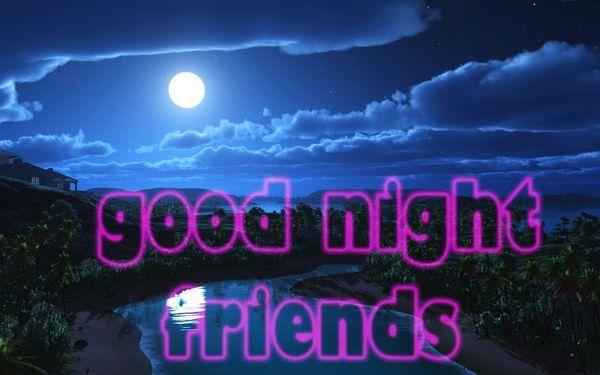 Спокойной ночи картинки скачать бесплатно 1