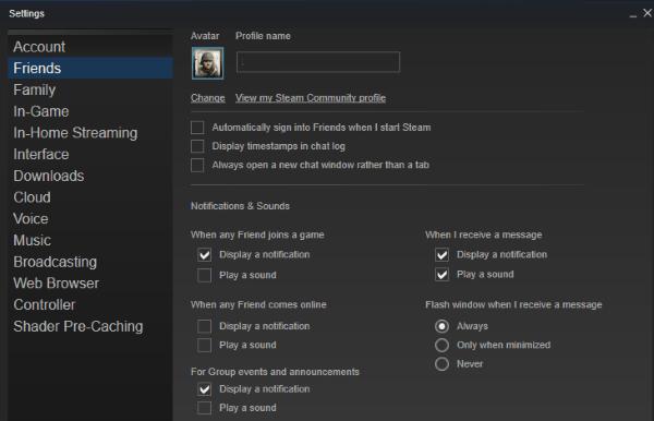 كيفية تغيير اسم حساب Steam الخاص بك 1