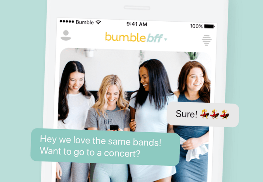How does dating site bumble work