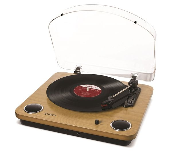 ION Audio Max LP 3Speed Belt Drive Turntable with BuiltIn Speakers