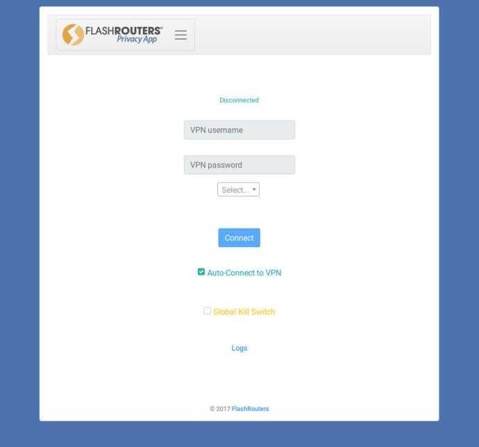 FlashRouters VPN Privacy App