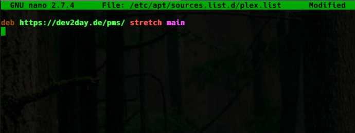 Plex Debian Repository