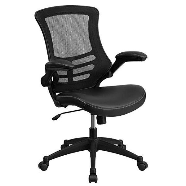 Flash Furniture MidBack Black Mesh Swivel Task Chair