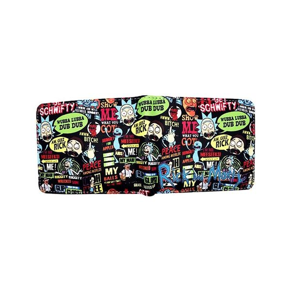 Gift ideas of Rick and Morty wallet 2