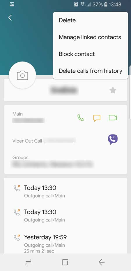 Galaxy S8/S8+ – How to Block Calls