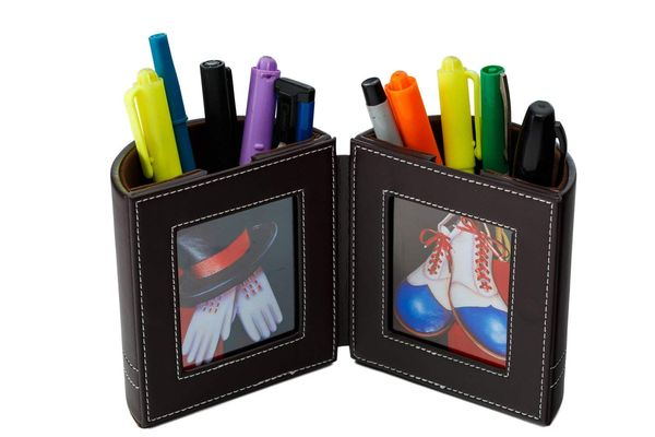 Pen and Pencil Holder with Picture Frame By Pensali
