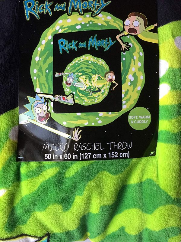 Rick and Morty blanket gift 4