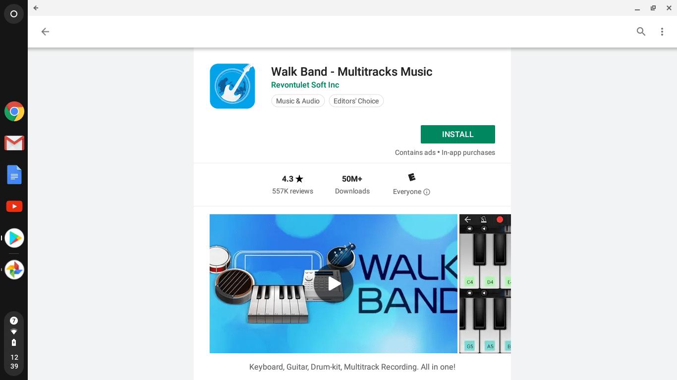 GarageBand Alternatives For the Chromebook