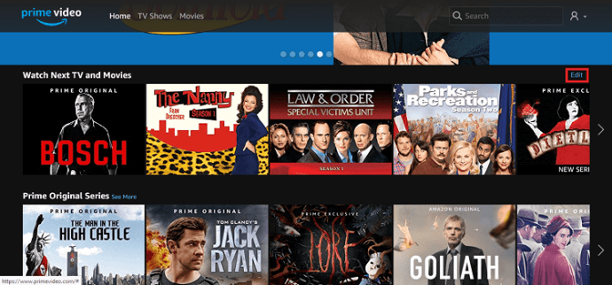 How To Edit or Remove from the Amazon Video Recently Watched List