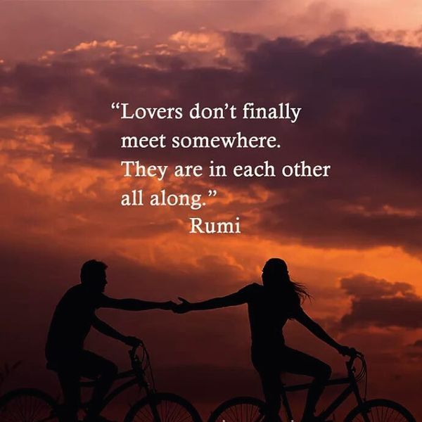 Lovers Don`t Finally Meet Somewhere...