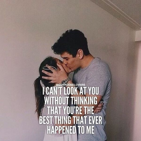 I Can`t Look at You without Thinking That You`re...