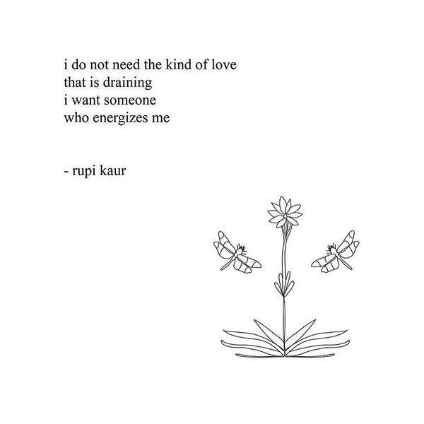 I do not need love ...