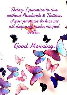 Привлекательная открытка с добрым утром