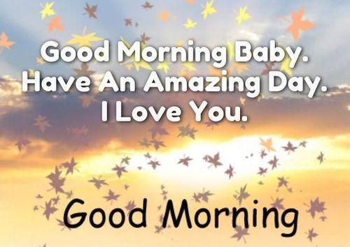Good morning baby i love you wallpaper