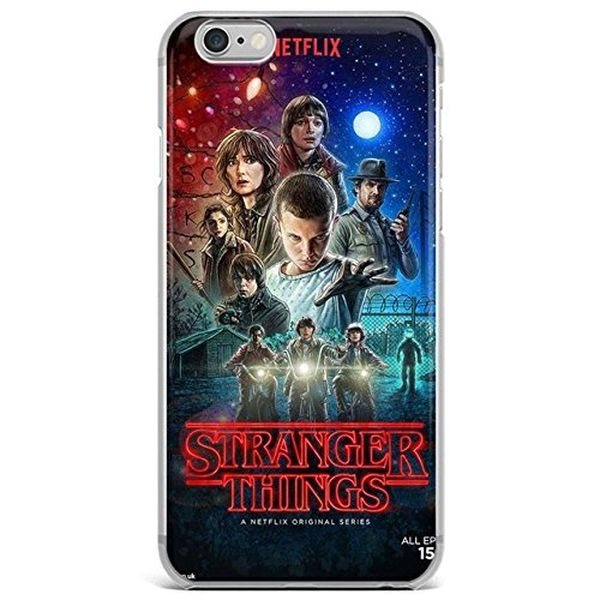 Ci Red Blue Stranger Things Iphone 5 Case