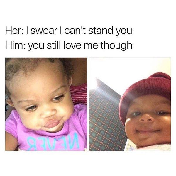 Cute relationship memes