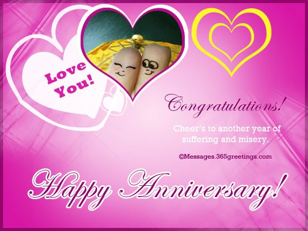 Happy Anniversary Funny Wishes