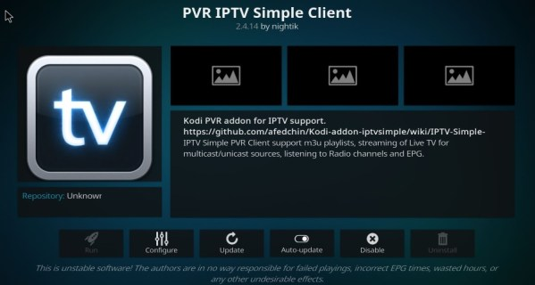 How To Setup a PVR in Kodi