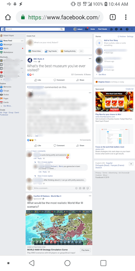 How To Use The Full Facebook Site For Desktop From Your Phone What operating systems will facebook messenger desktop be available for? facebook site for desktop from your phone