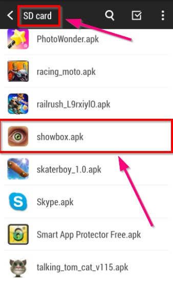 How Does Showbox Work