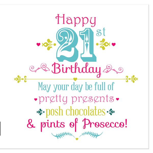 Amazing 21st birthday images for her