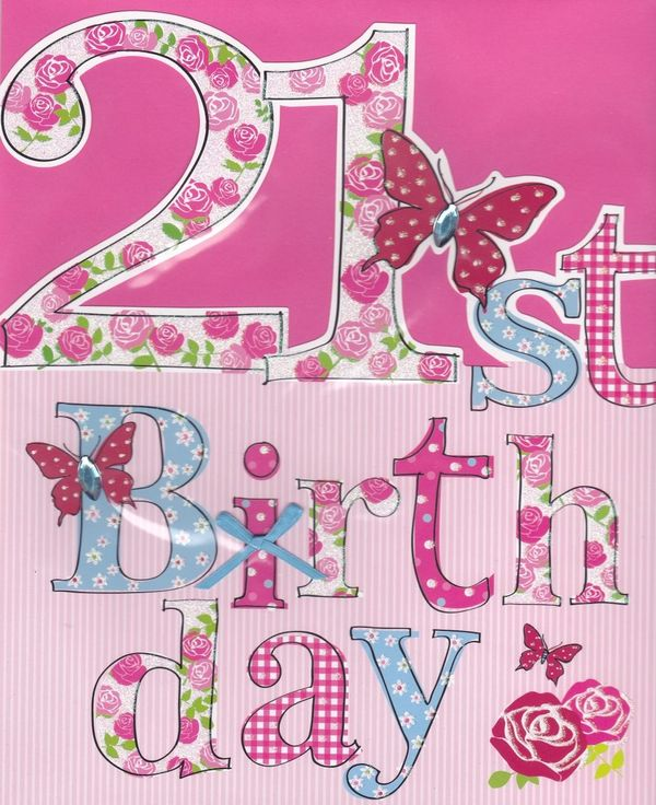 Beautiful images of the 21st birthday cards