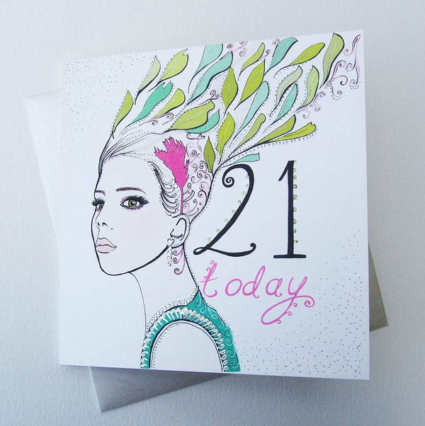 RefinedImages of 21st Birthday Cards