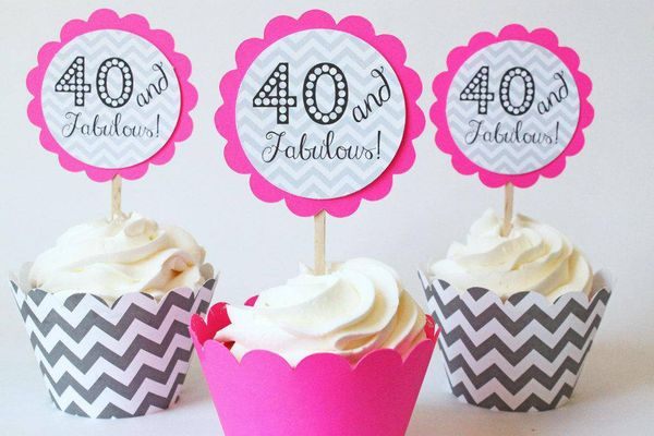 The best look of 40th birthday for women