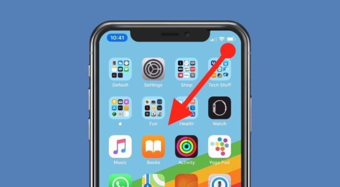Swipe to Access Control Center on iPhone X