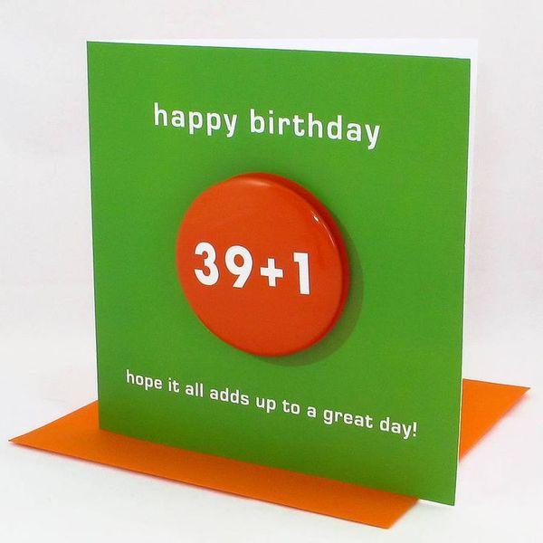 Beautiful happy big birthday card